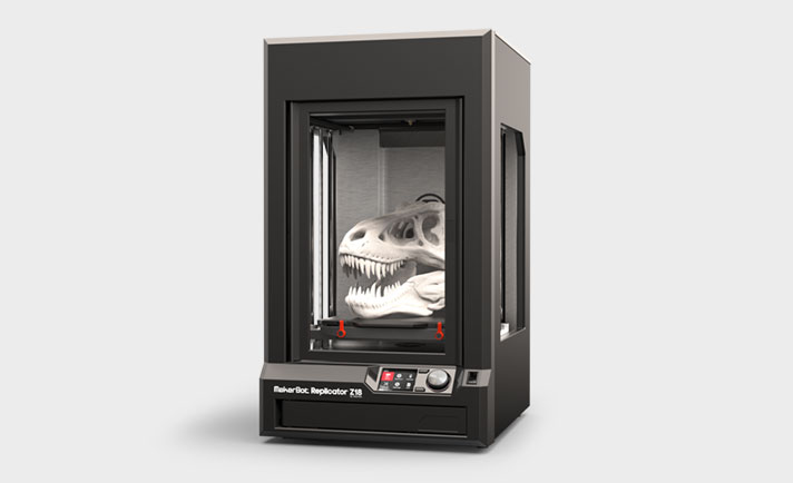 3D printer made by MakerBot